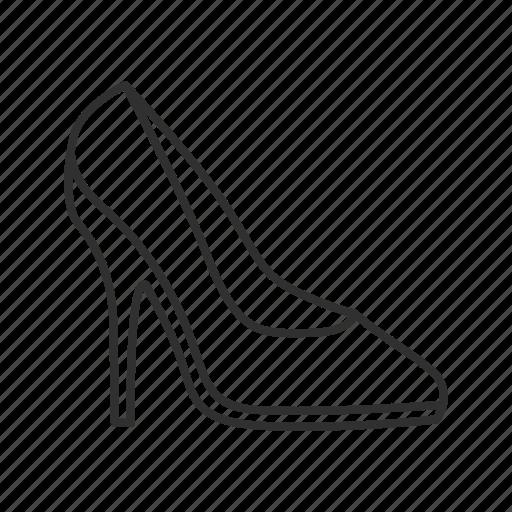 girl shoes, heels, high heels, sandals, shoes, stilettos, stilettos shoes icon