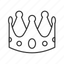 crown, king, kings crown, prince, princess, queen, royalty icon