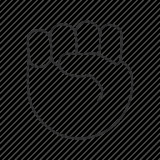 black fist emoji   emoji world