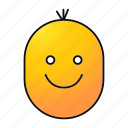 cheerful, child, emoji, emoticon, happy, smiley, smiling icon