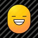 cheerful, emoji, emoticon, happy, laughing, lol, smiley