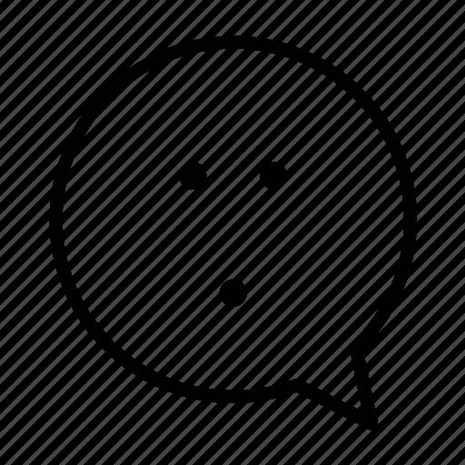 amused, emoji, face, smiley icon