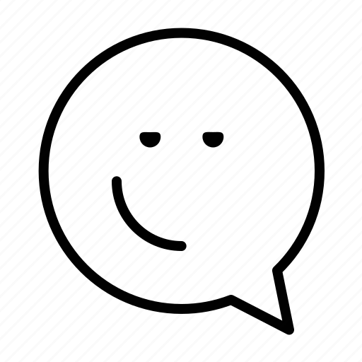emoji, face, mhhhh, smiley icon