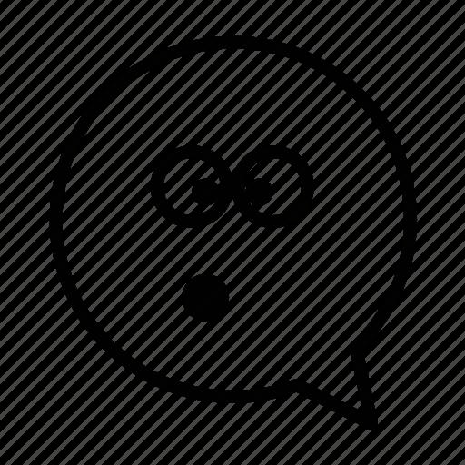 emoji, face, opps, smiley icon