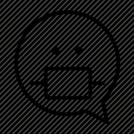 face, health, risk, safe, sick, smiley icon