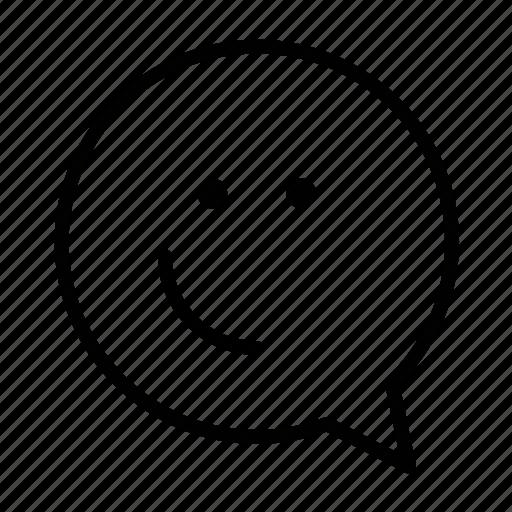 emoji, face, nothing, yeah icon