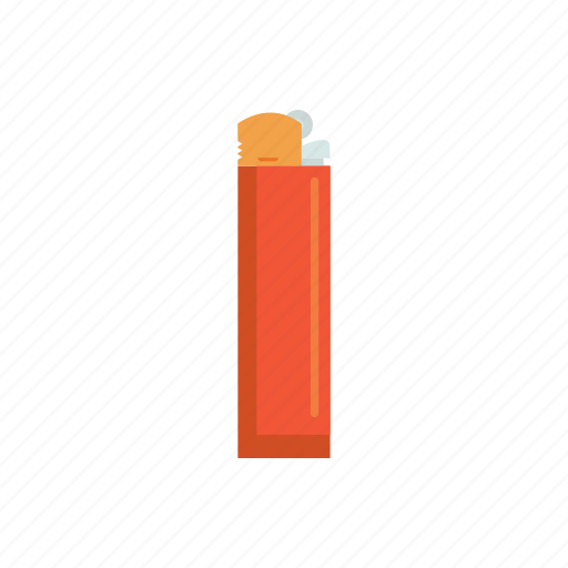 cigarette lighter, lighter, smoke icon