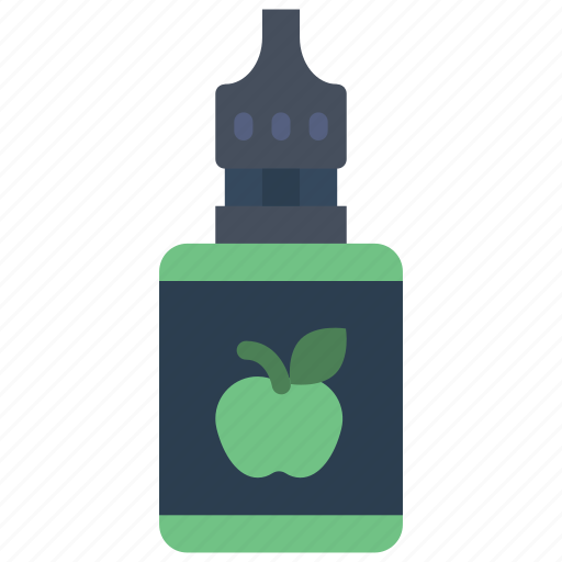 apple, juice, smoking, vape, vaping icon