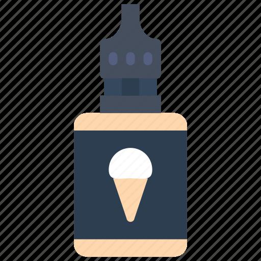cream, ice, juice, smoking, vape, vaping icon