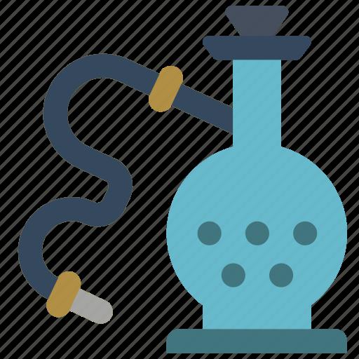 hooka, pipe, smoking, vaping icon