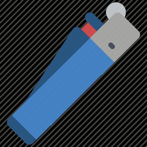 clipper, lighter, smoking, vaping icon