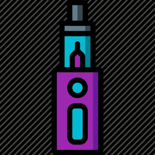 and, box, mod, smoking, ultra, vape, vaping icon