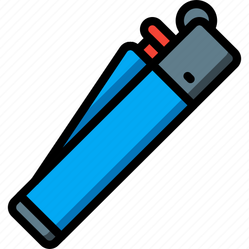 and, clipper, lighter, smoking, ultra, vaping icon