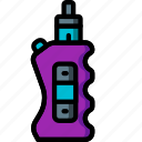 and, box, mod, smoking, ultra, vape, vaping icon