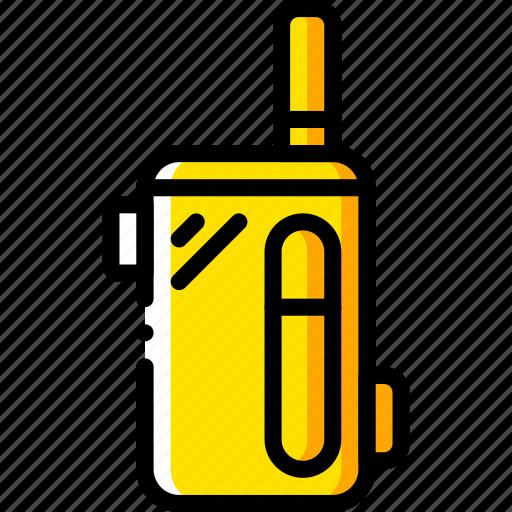 and, box, mod, smoking, vape, vaping, yellow icon