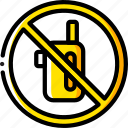 and, no, sign, smoking, vaping, yellow icon