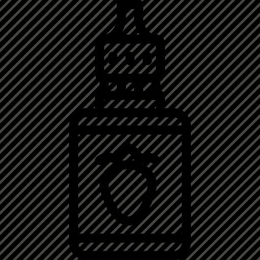 juice, smoking, strawberry, vape, vaping icon