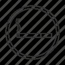 area, cigaret, cigarette, smoke, smoker, smoking, zone icon