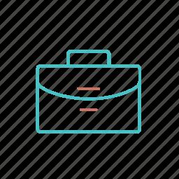 briefcase, business, office, portfolio, work icon