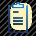 appunti, blackboard, board, cartella, clipboard, notas, буфер обмена icon