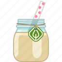 banana, drink, fitness, health, smoothie, vitamins, yumminky icon