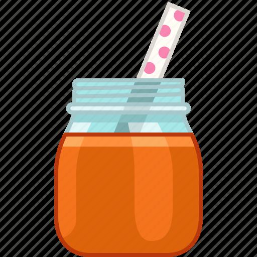 drink, fitness, health, orange, smoothie, vitamins, yumminky icon