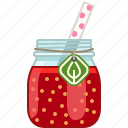 drink, fitness, health, smoothie, tomato, vitamins, yumminky icon