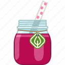 beetroot, drink, fitness, health, smoothie, vitamins icon