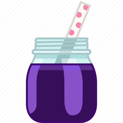 blackberry, drink, fitness, grape, smoothie, vitamins, yumminky icon