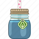 blueberry, drink, fitness, health, smoothie, vitamins icon