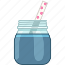 blueberry, drink, fitness, health, smoothie, vitamins, yumminky icon