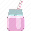 drink, fitness, fruit, health, smoothie, vitamins, yumminky icon