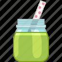 cucumber, drink, fitness, health, smoothie, vitamins icon