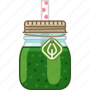 broccoli, drink, health, smoothie, spinach, vitamins, yumminky icon