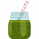 broccoli, drink, fitness, smoothie, spinach, vitamins, yumminky icon