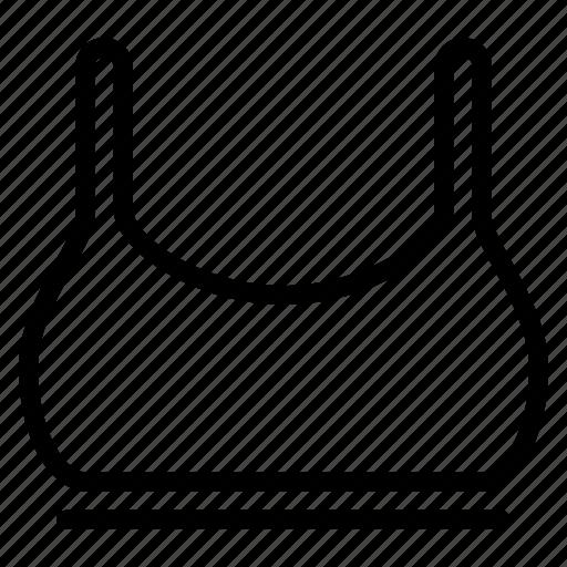 bra, clothes, sport, undergarment, underwear, women icon