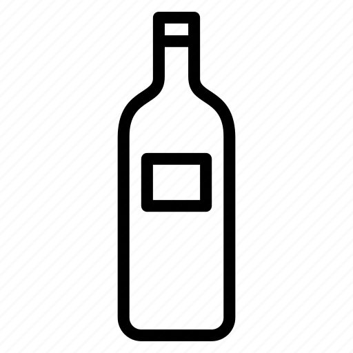 Alcohol, bottle, drink, liquor, wine icon - Download on Iconfinder