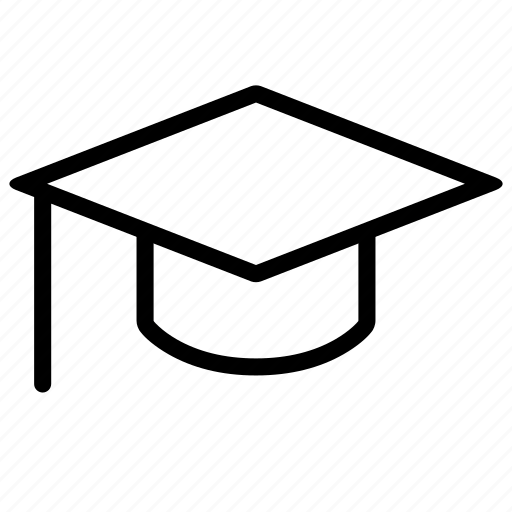 Education, graduate, hat, learn, school, study icon - Download on Iconfinder
