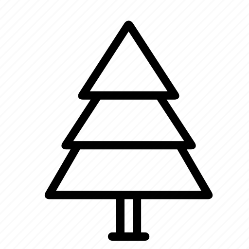 christmas, holiday, nature, park, plant, tree, winter icon