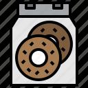 bakery, dessert, donut, doughnut, food, sugar, sweet icon