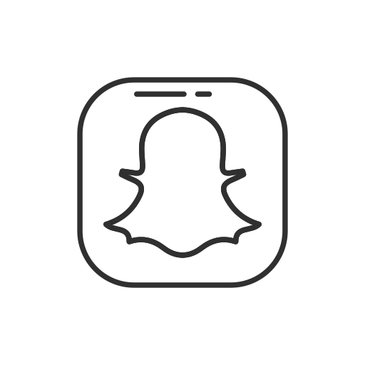 ghost, label, logo, snapchat icon