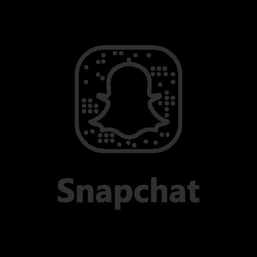brand, label, logo, snapchat icon