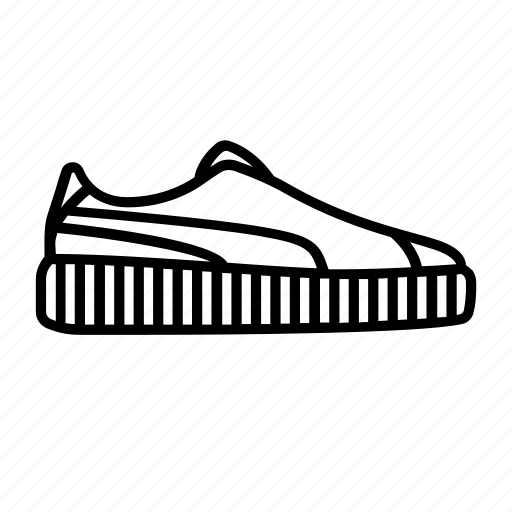 creeper, creepers, puma, rihanna, shoe, sneaker, sneakers icon