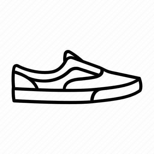 shoe, shoes, skate, skater, sneaker, sneakers, vans icon