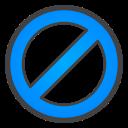 ban, circle icon