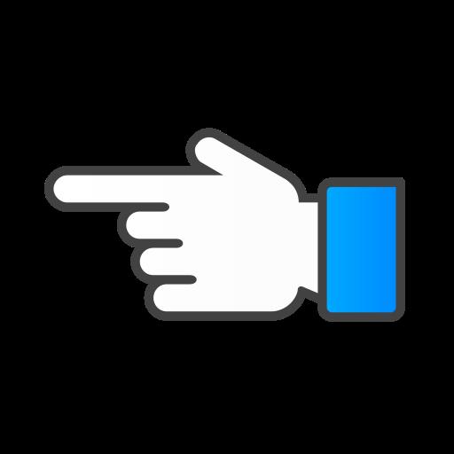 hand, left icon
