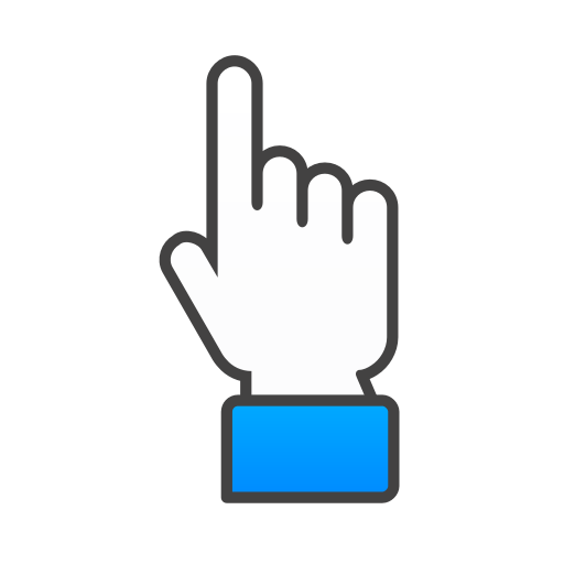 hand, up icon