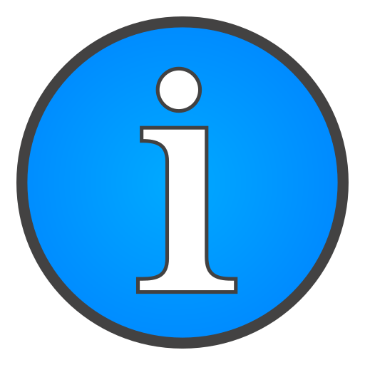 info, sign icon