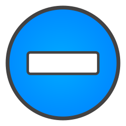 minus, sign icon