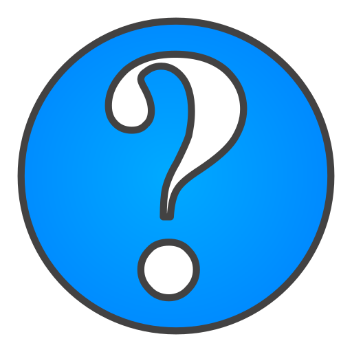 question, sign icon